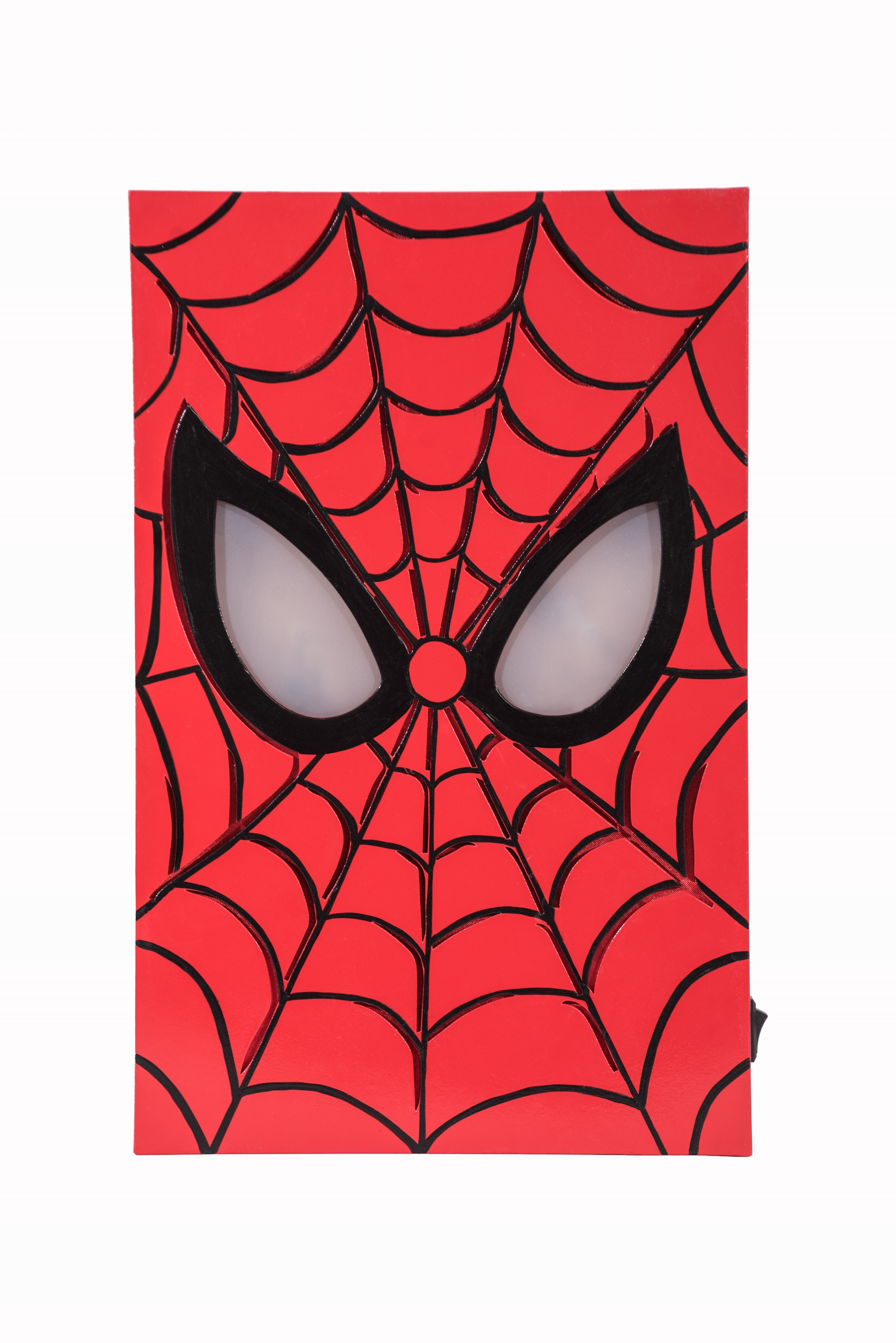 Sep168740 Marvel Spider Man Led Light Up Box Art