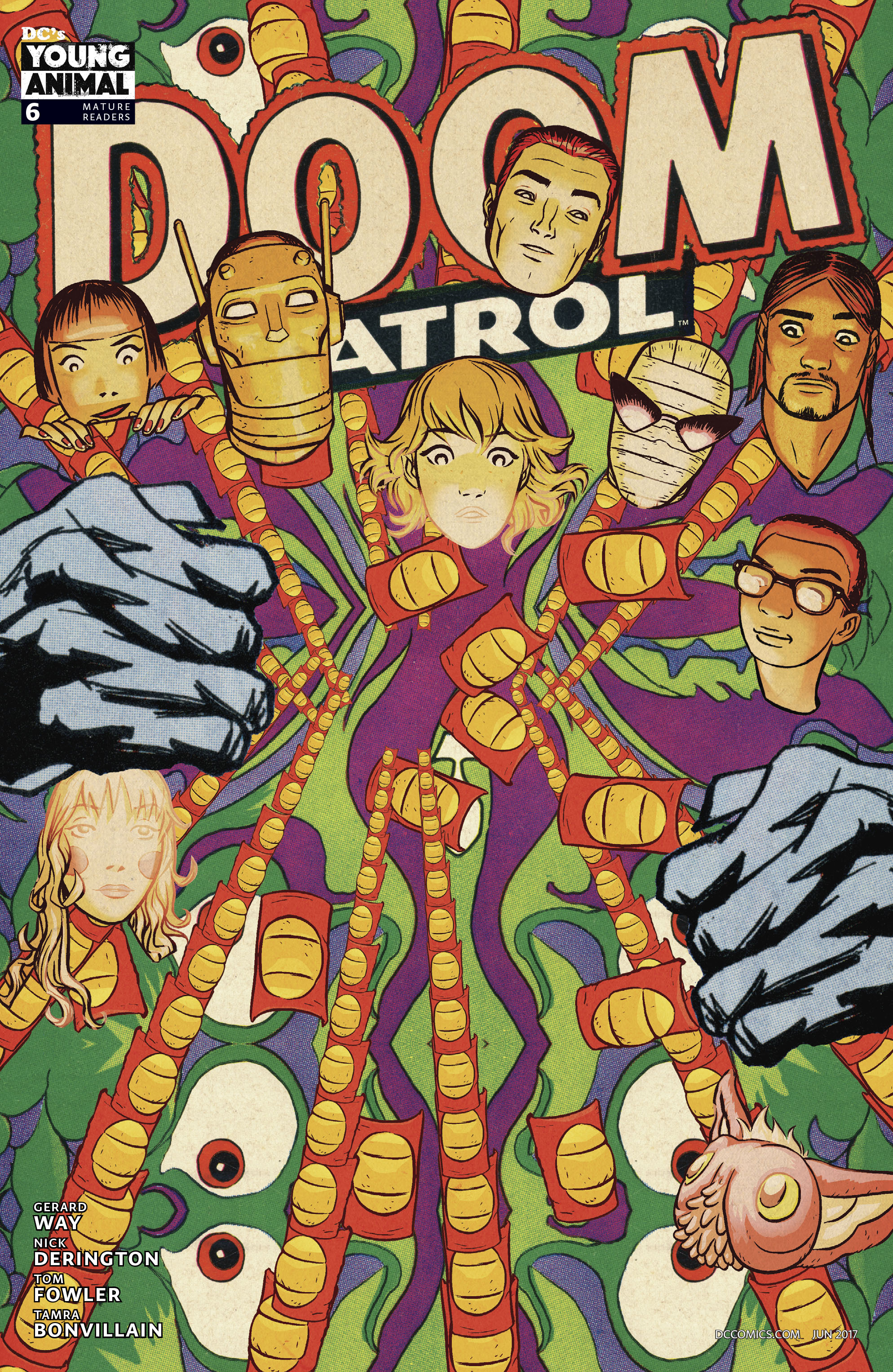 DOOM PATROL #6 VAR ED (MR)