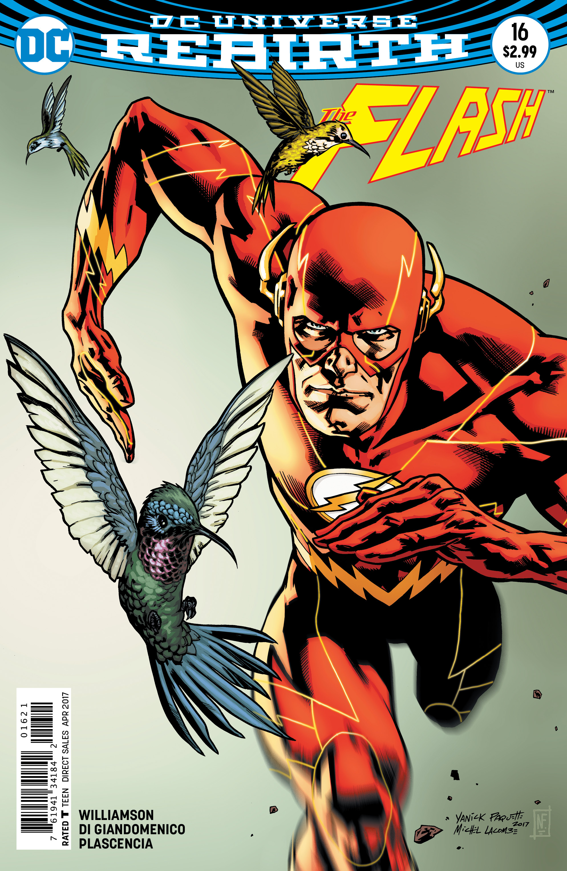 FLASH #16 VAR ED