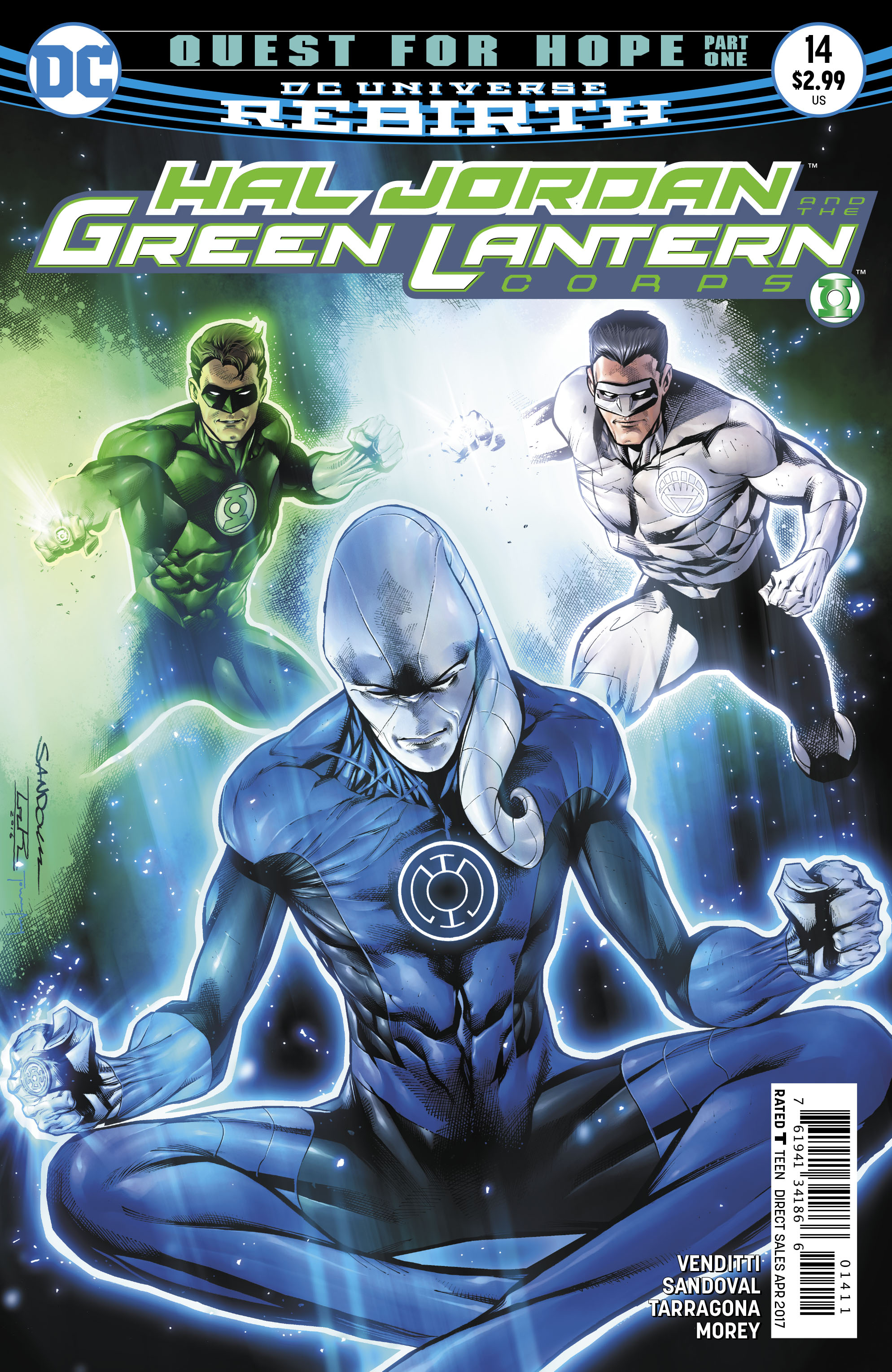 HAL JORDAN AND THE GREEN LANTERN CORPS #14