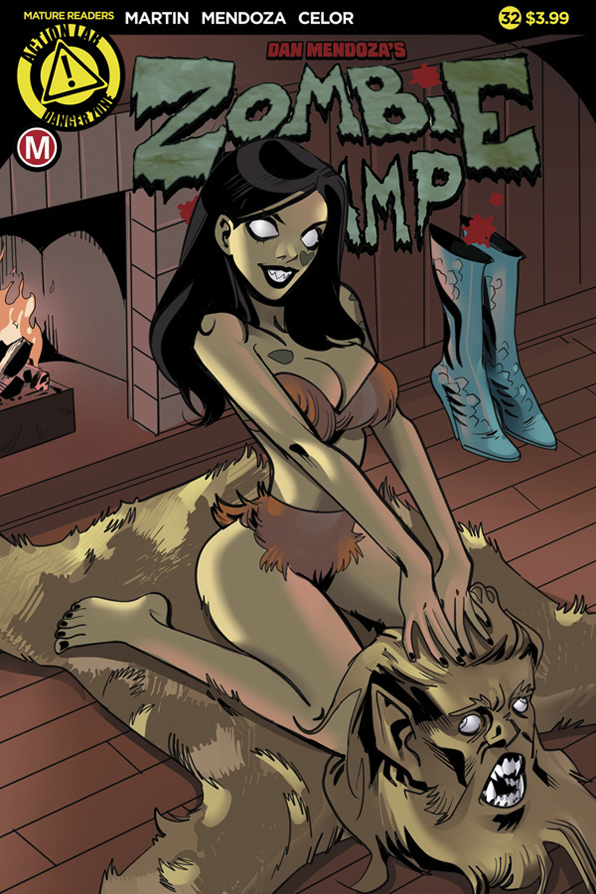 ZOMBIE TRAMP ONGOING #32 CVR A CELOR (MR)
