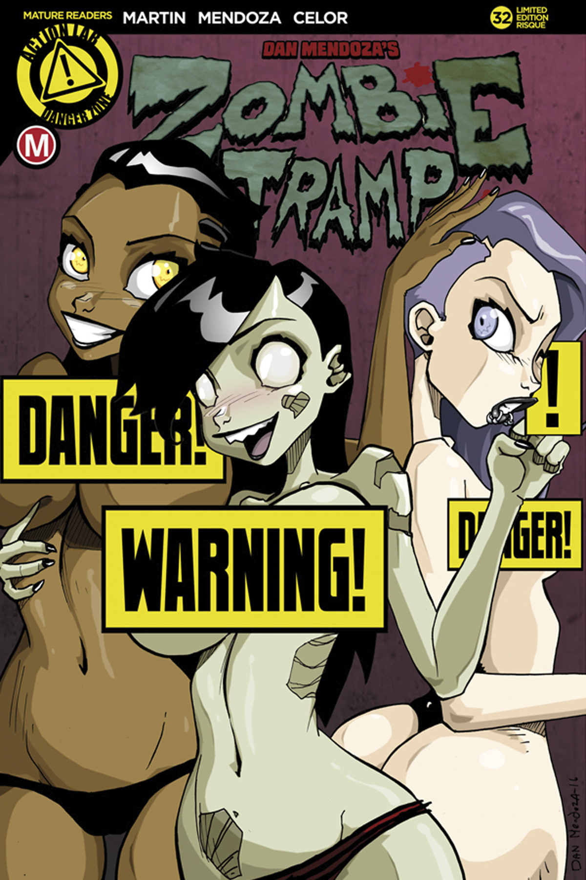 ZOMBIE TRAMP ONGOING #32 CVR D PANTY PARTY RISQUE (MR)
