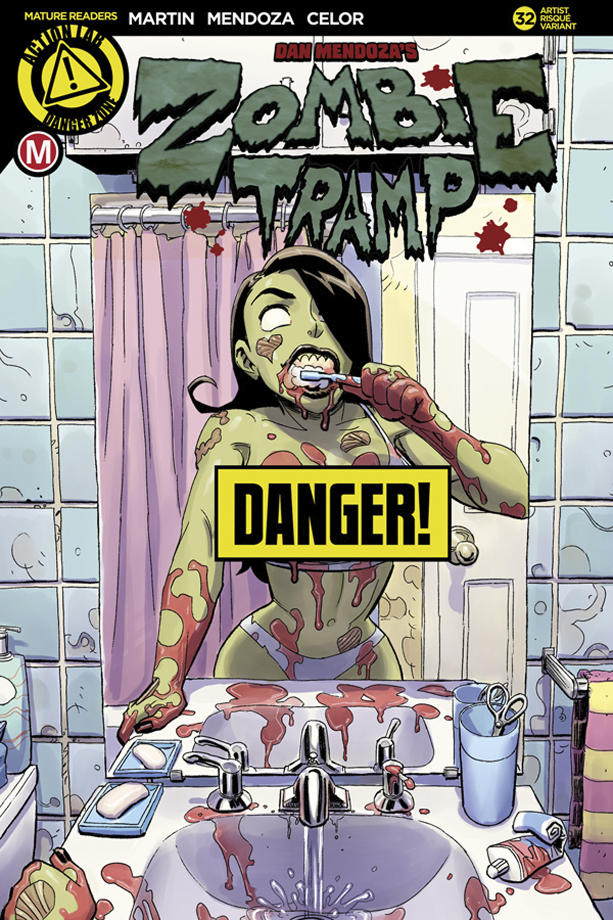 ZOMBIE TRAMP ONGOING #32 CVR F WINSTON YOUNG RISQUE