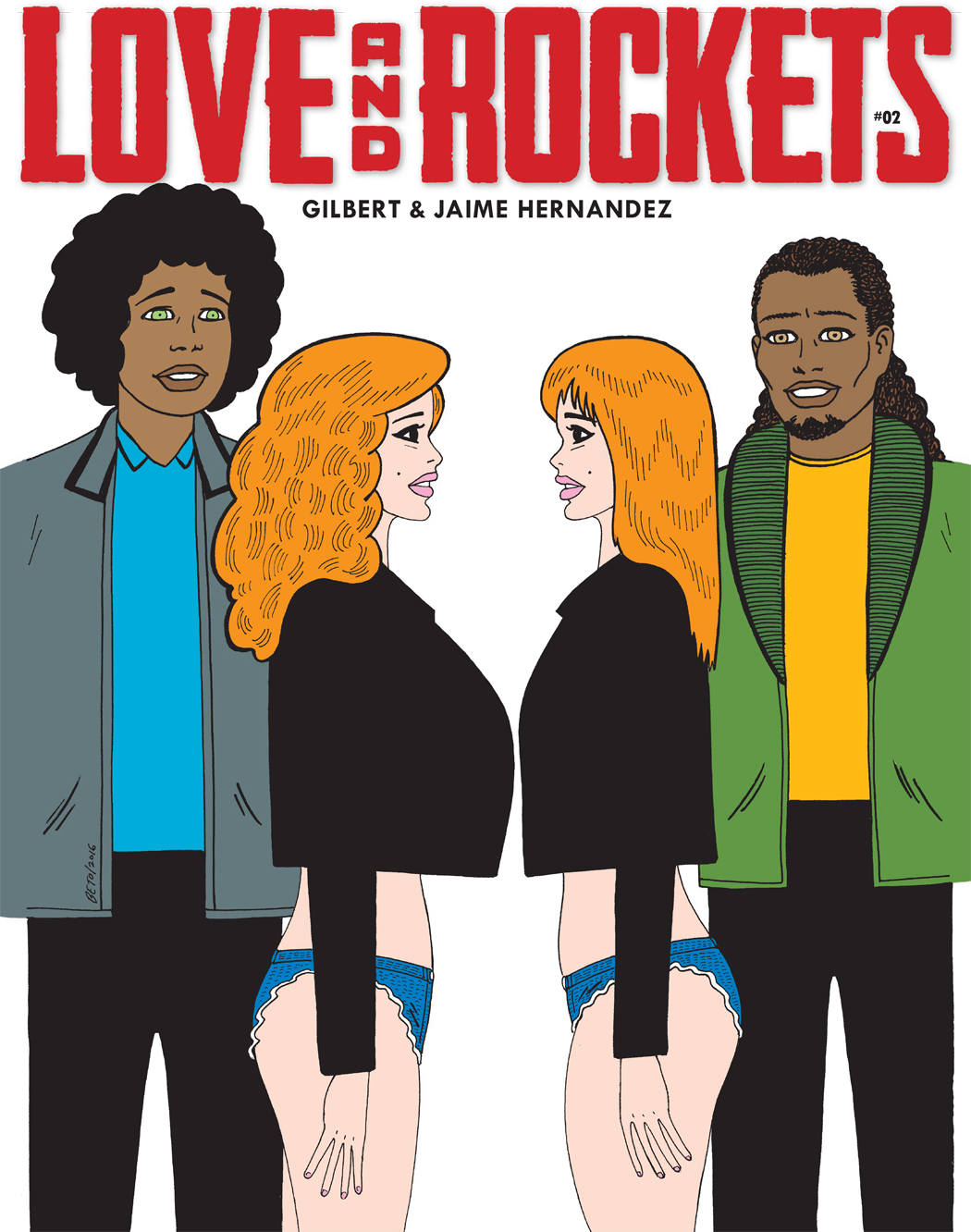 LOVE & ROCKETS MAGAZINE #2 (MR)
