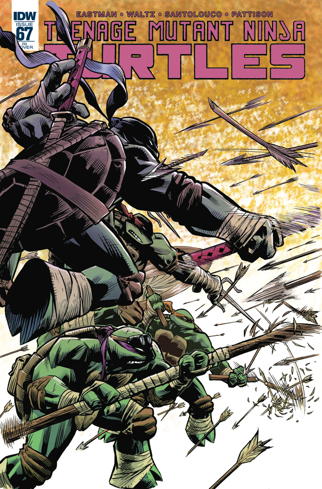 TMNT ONGOING #67 10 COPY INCV