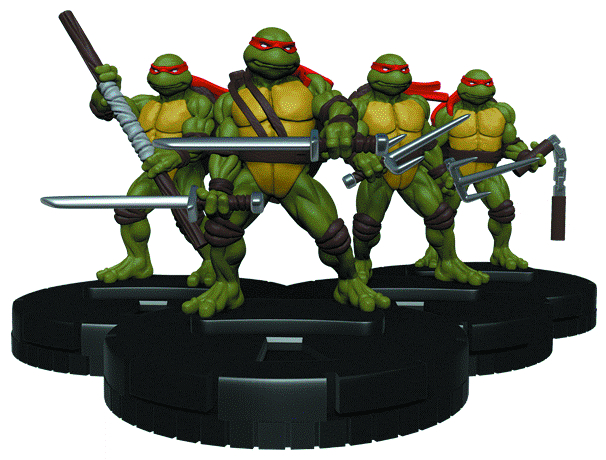 TMNT HEROCLIX SHREDDERS RETURN 24 CT GRAVITY FEED