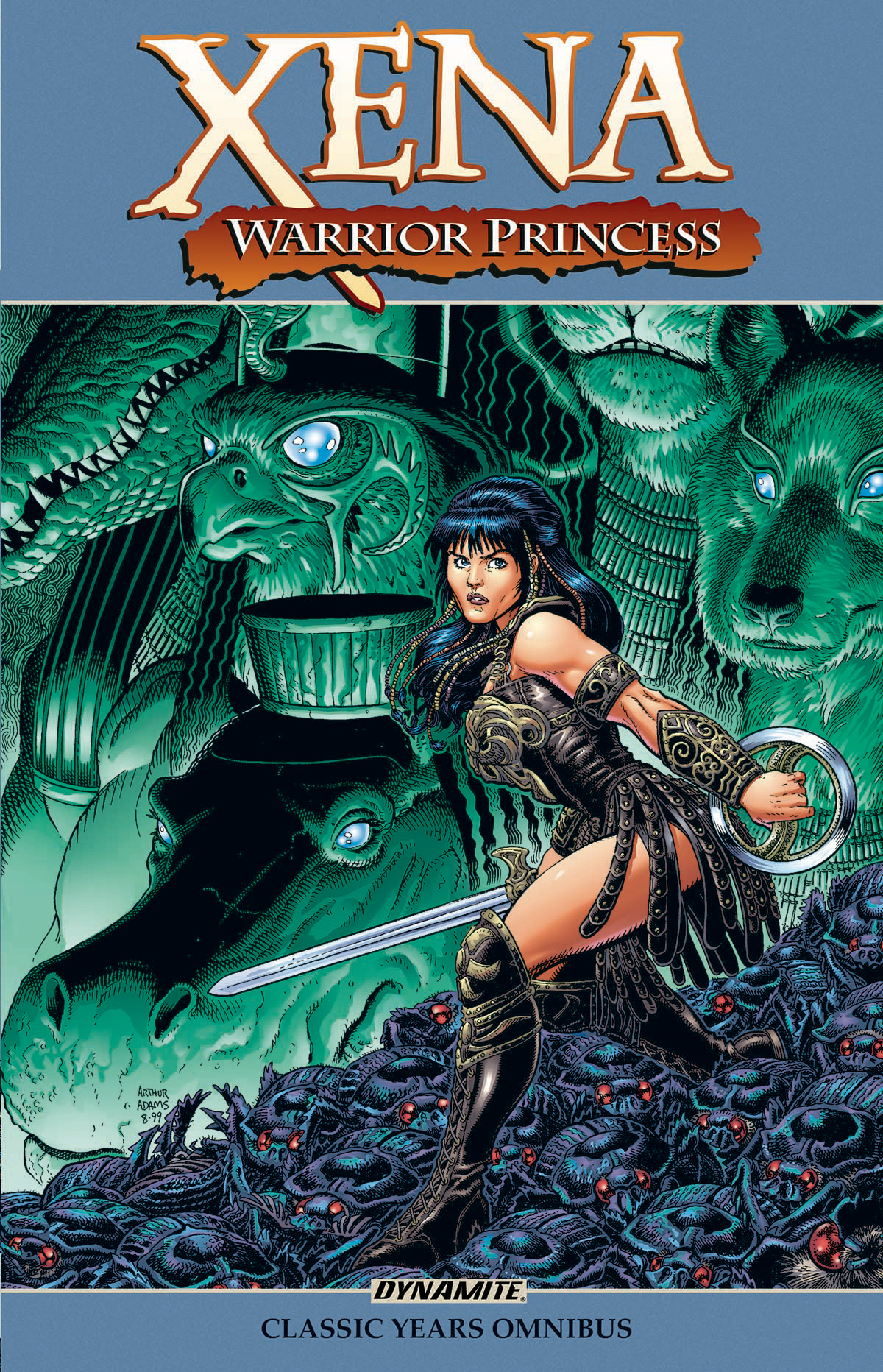 XENA WARRIOR PRINCESS CLASSIC YEARS OMNIBUS TP