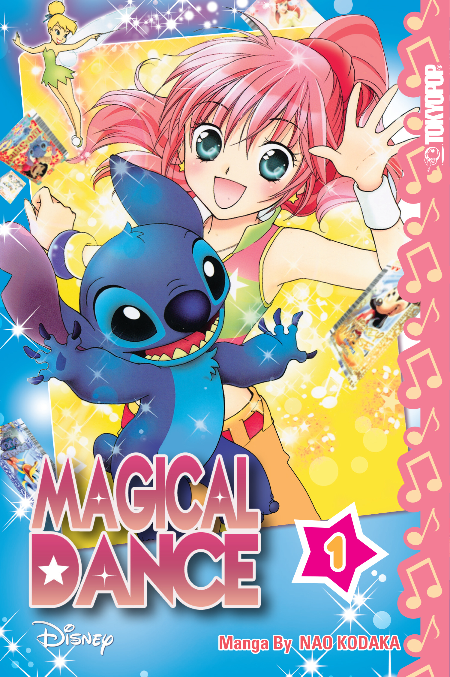 DISNEY MANGA MAGICAL DANCE GN VOL 01