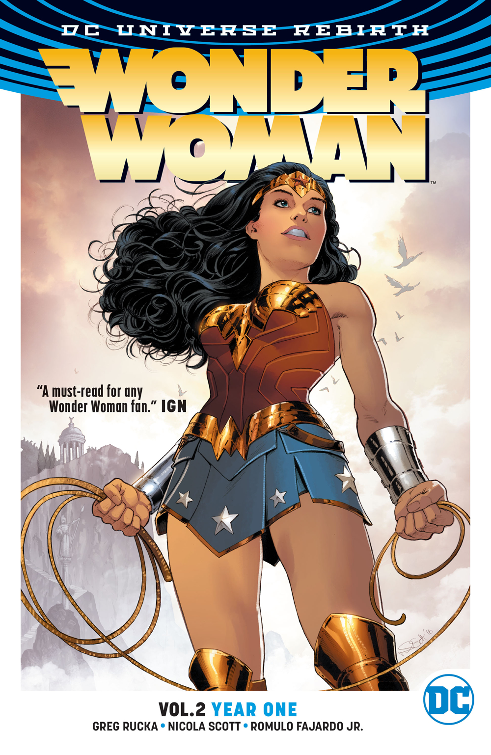WONDER WOMAN TP VOL 02 YEAR ONE