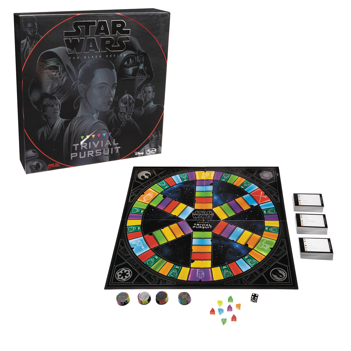 TRIVIAL PURSUIT STAR WARS GAME CS