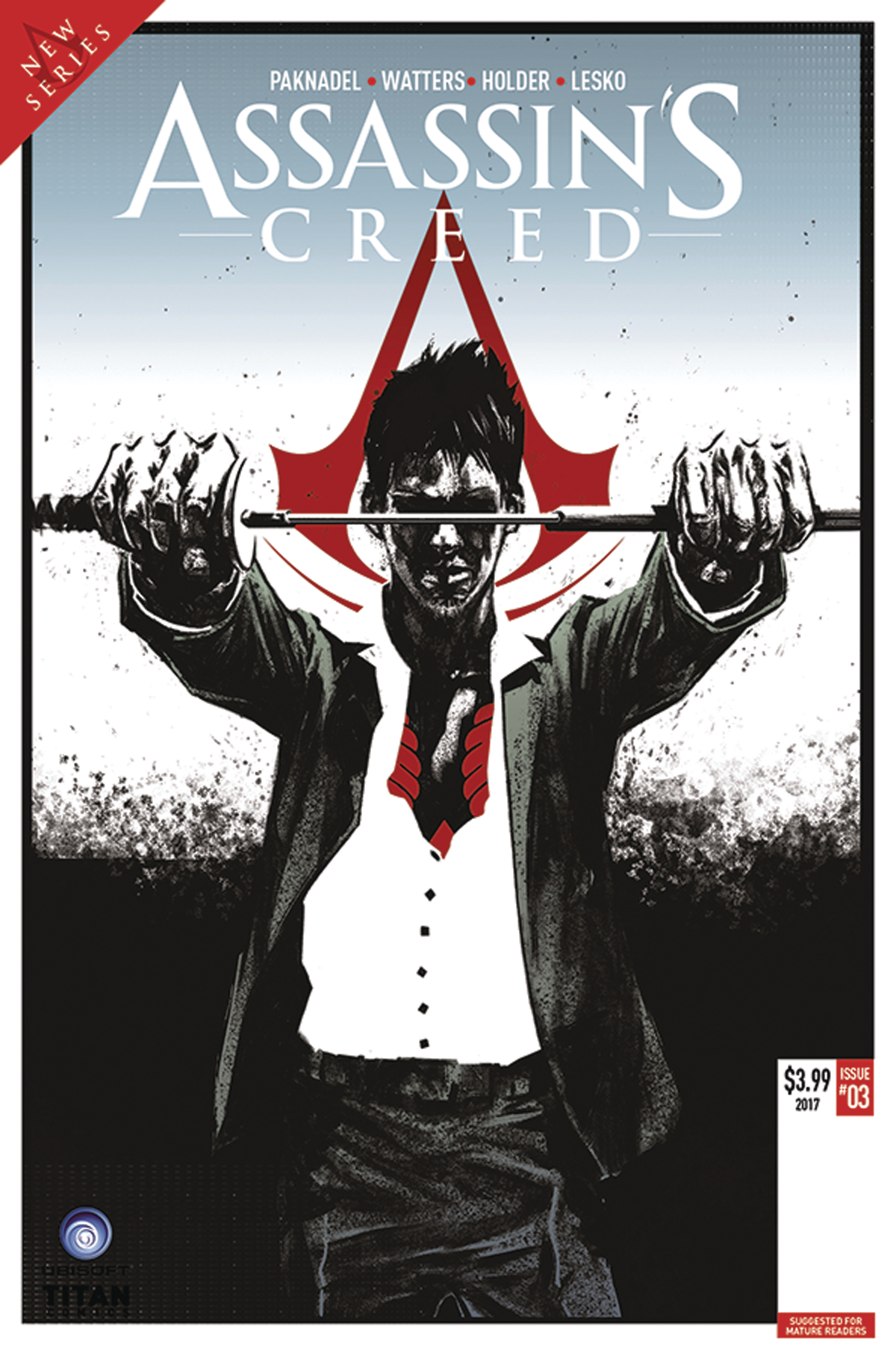 ASSASSINS CREED UPRISING #3 CVR C OLIMPIERI