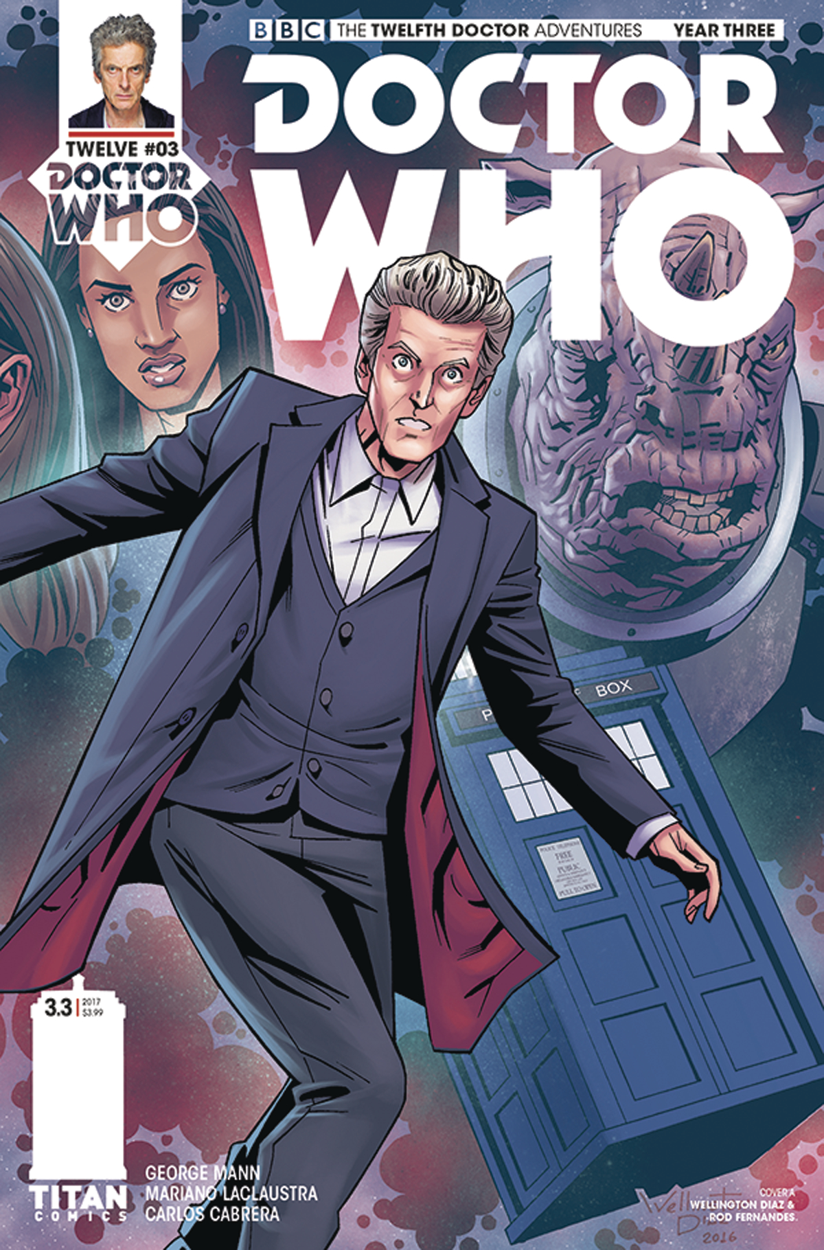 DOCTOR WHO 12TH YEAR THREE #3 CVR A DIAZ