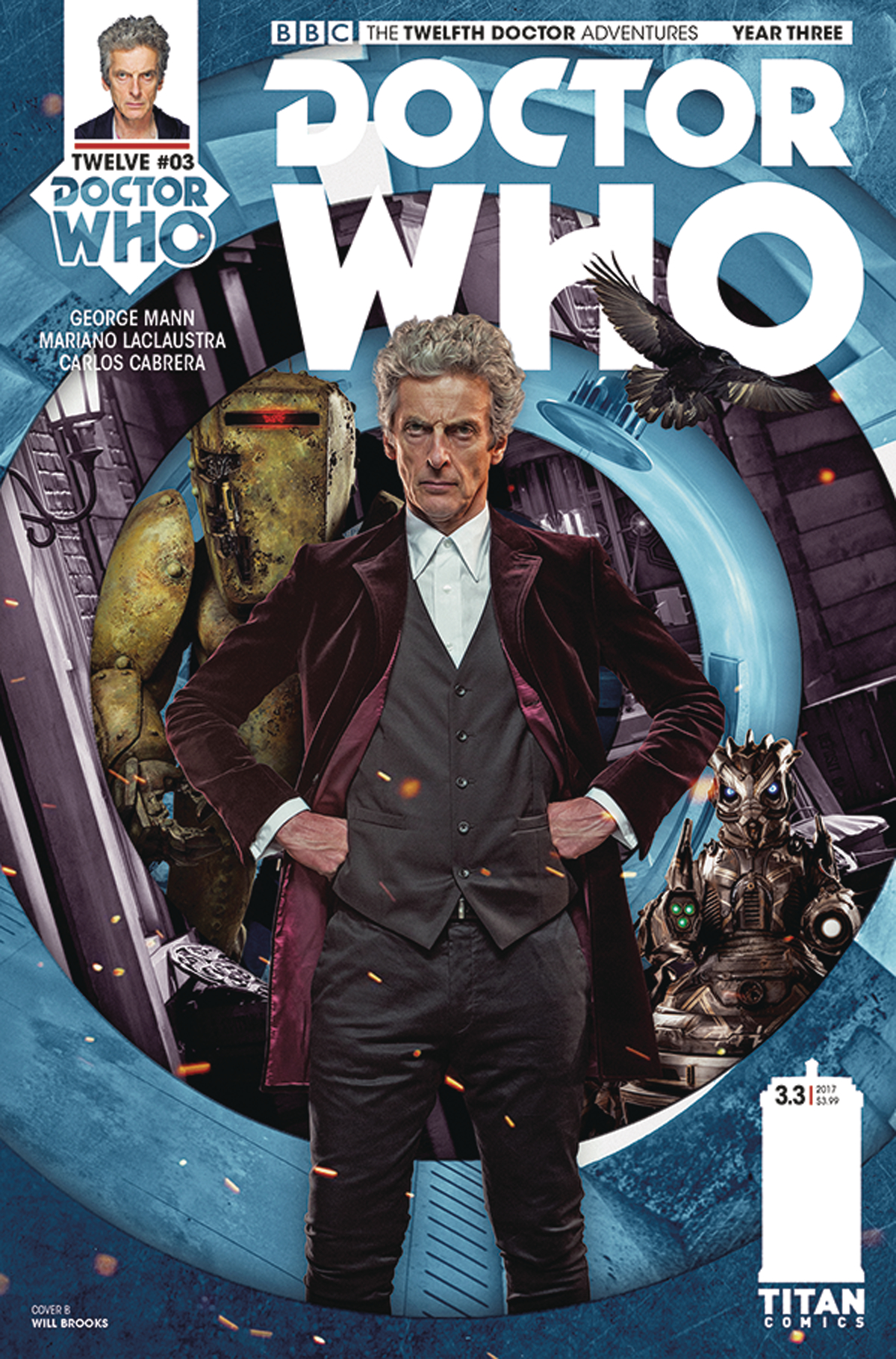 DOCTOR WHO 12TH YEAR THREE #3 CVR B PHOTO
