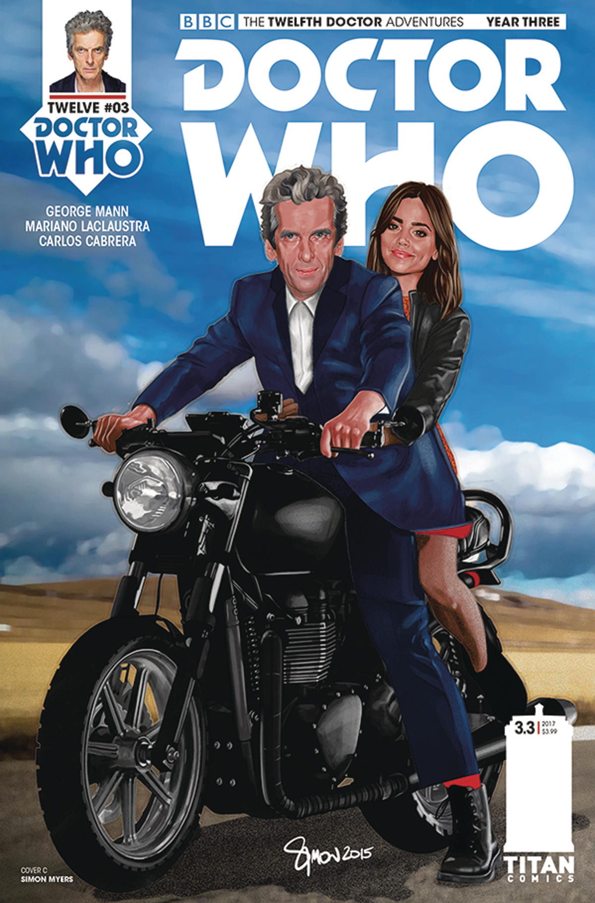 DOCTOR WHO 12TH YEAR THREE #3 CVR C MYERS