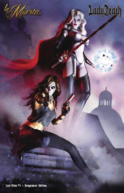 Jan171573 La Muerta Last Rites 1 Vengeance Ed Ltd Ed