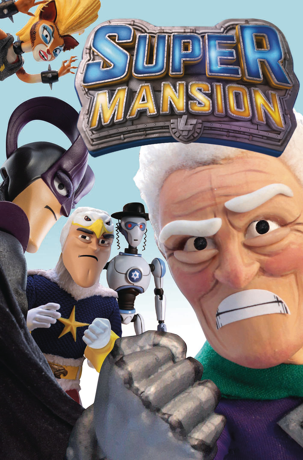 SUPERMANSION #1 (OF 2) CVR B TV SHOW (RES) (MR)