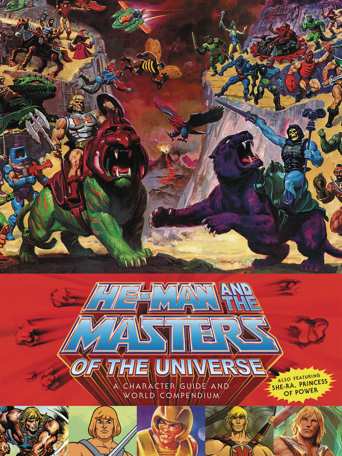 HE-MAN MASTERS UNIVERSE HC CHARACTER GUIDE WORLD (JAN170145)