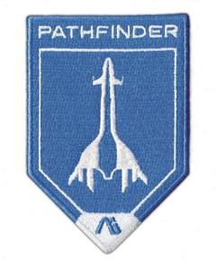 MASS EFFECT ANDROMEDA PATHFINDER EMBROIDERED PATCH
