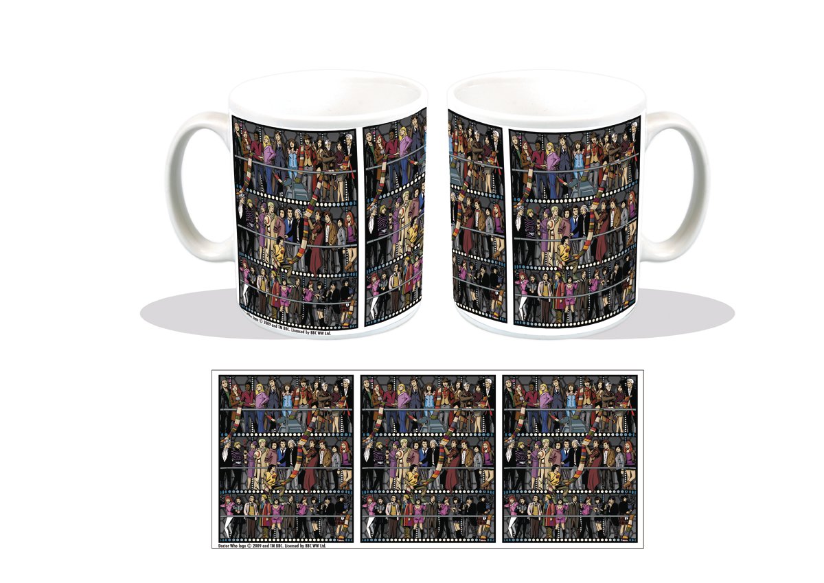 Worlds best doctor coffee mugs - Doctor Who All Doctors And Companions Px Coffee Mug