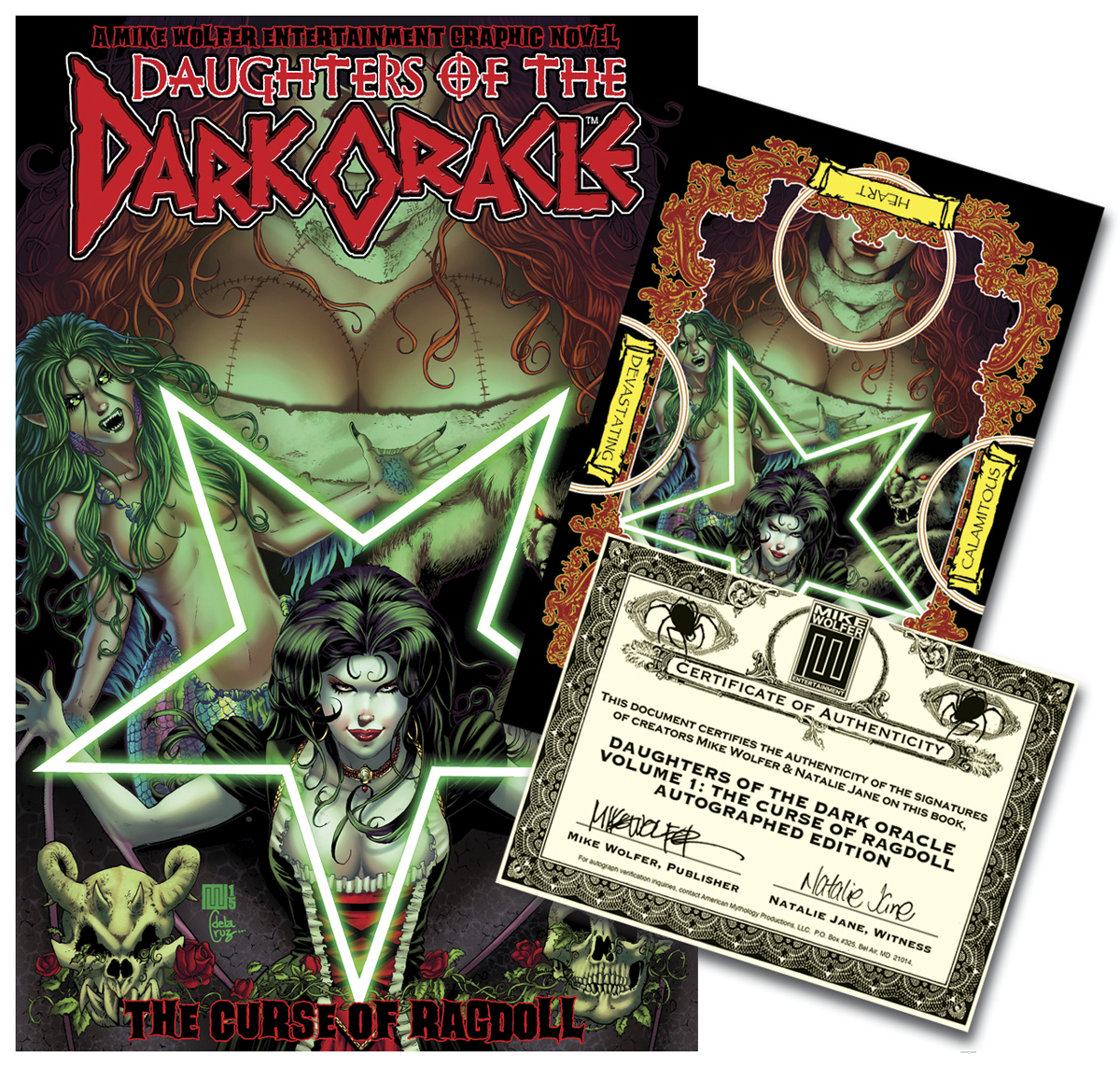 DAUGHTERS OF THE DARK ORACLE TP VOL 01 SIGNED ED