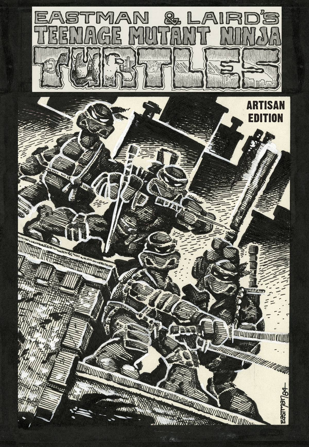 TEENAGE MUTANT NINJA TURTLES ARTISAN ED HC