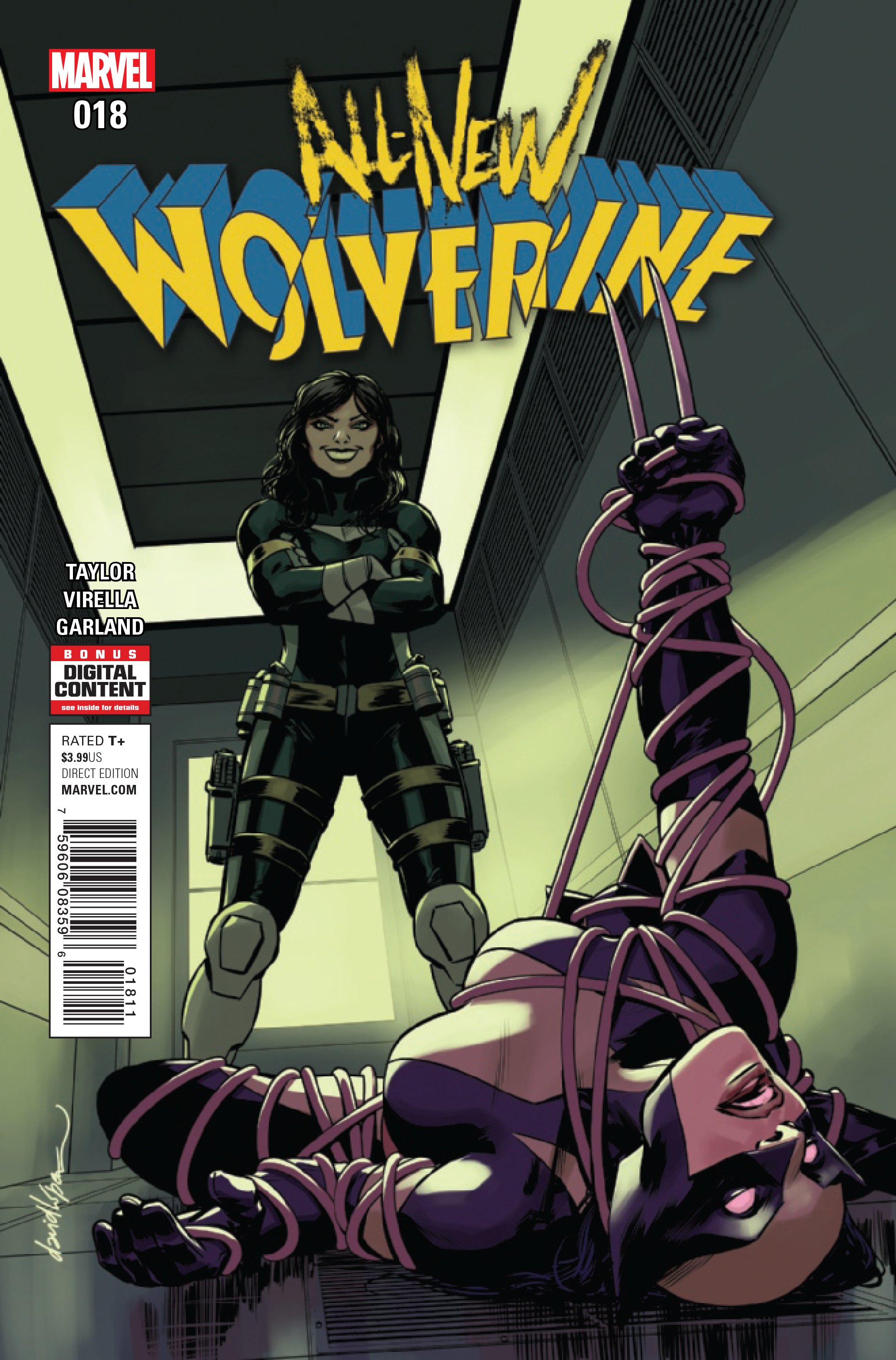 JAN171069 - ALL NEW WOLVERINE #18 - Previews World