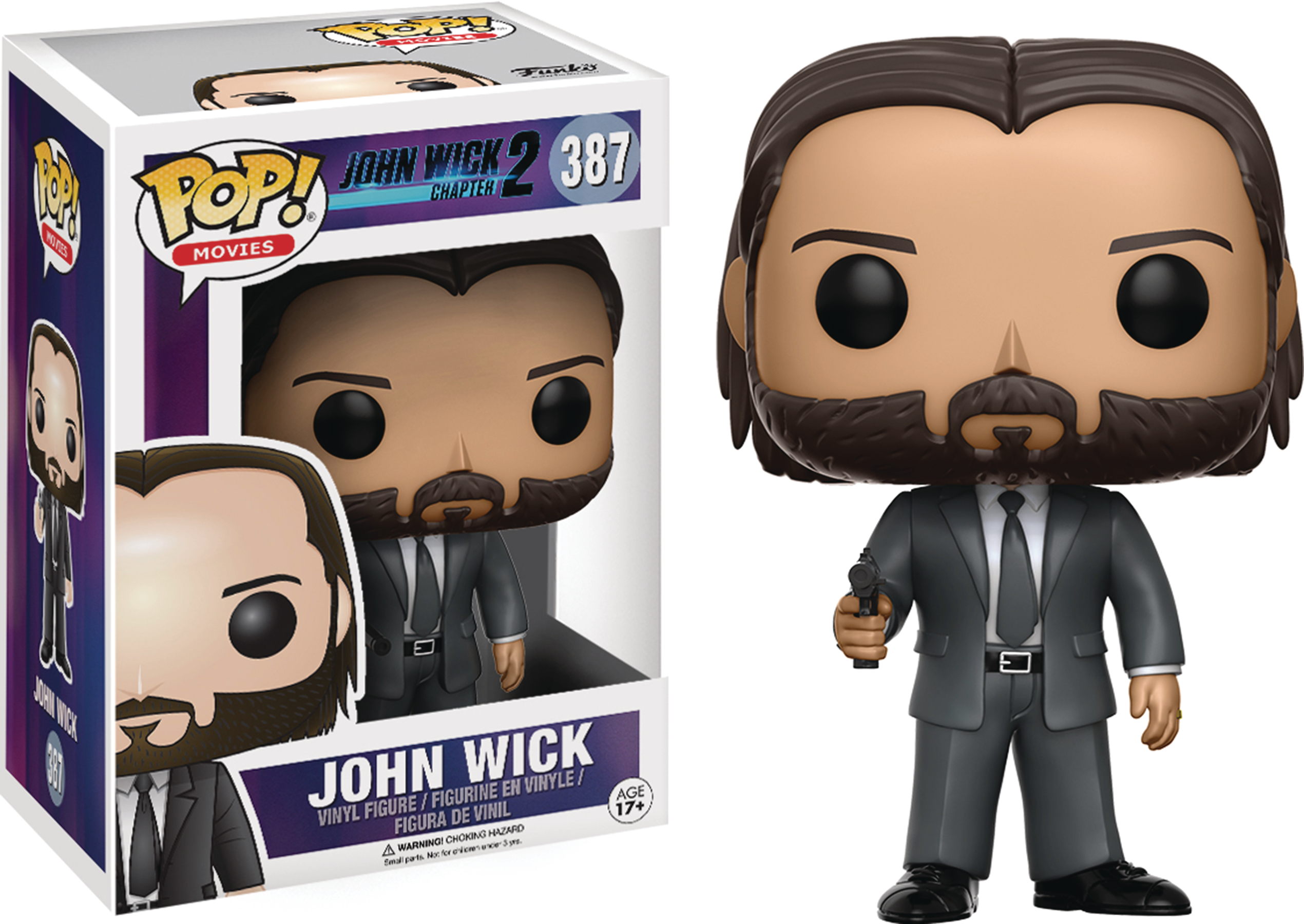 POP MOVIES JOHN WICK VINYL FIG