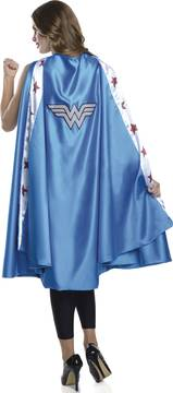 DC HEROES WONDER WOMAN COSTUME LONG CAPE