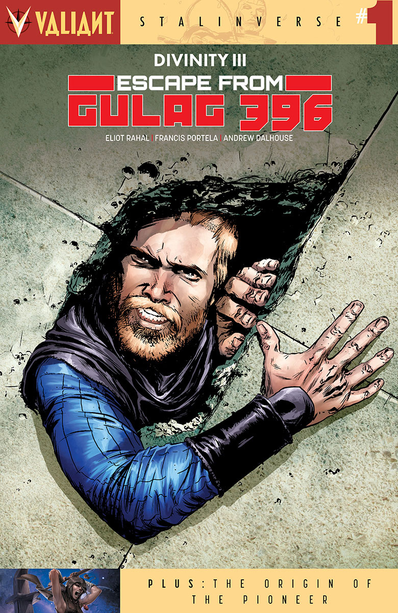 DIVINITY III ESCAPE FROM GULAG 396 #1 CVR A GORHAM