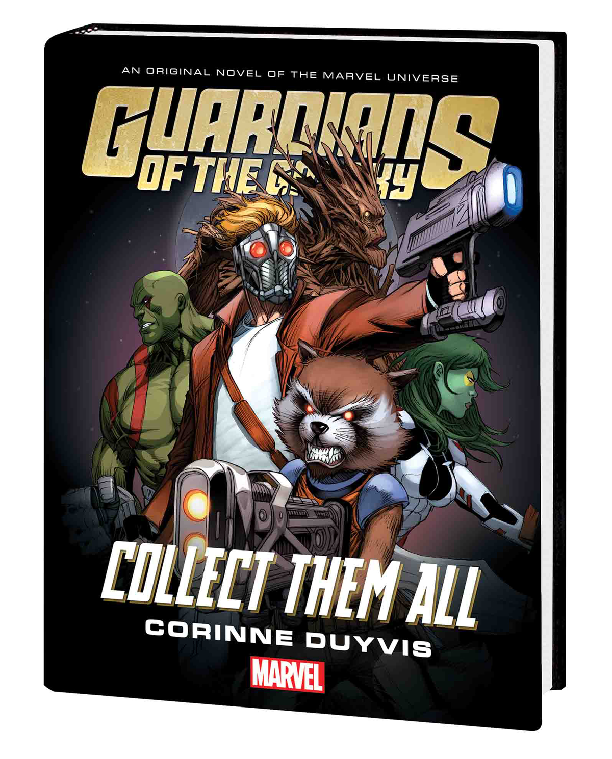 GUARDIANS OF GALAXY COLLECT THEM ALL PROSE NOVEL HC