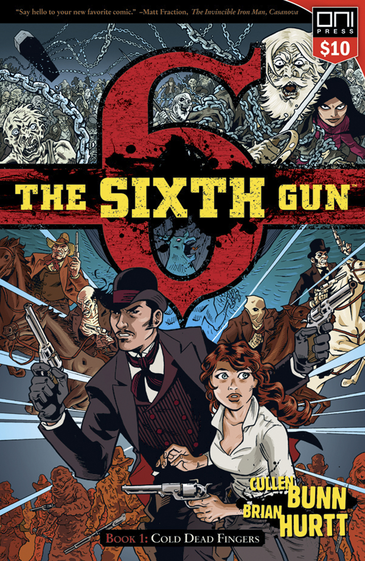 SIXTH GUN TP VOL 01 COLD DEAD FINGERS