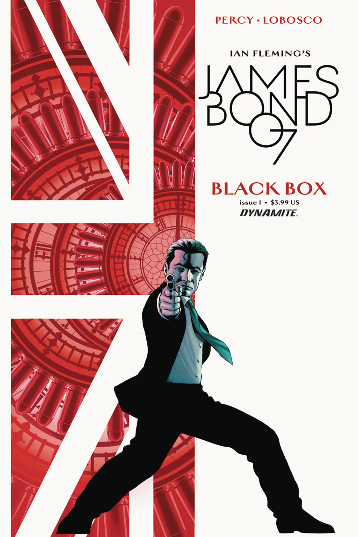JAMES BOND #1 CASSADAY CVR PERCY SGN