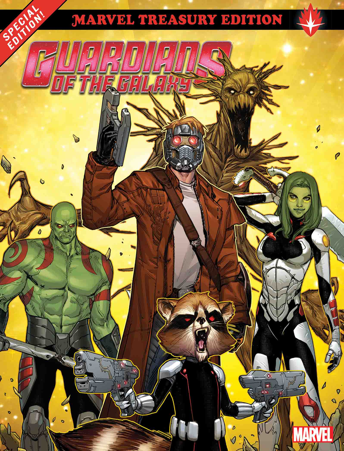 GUARDIANS OF GALAXY ALL NEW MARVEL TREASURY ED TP