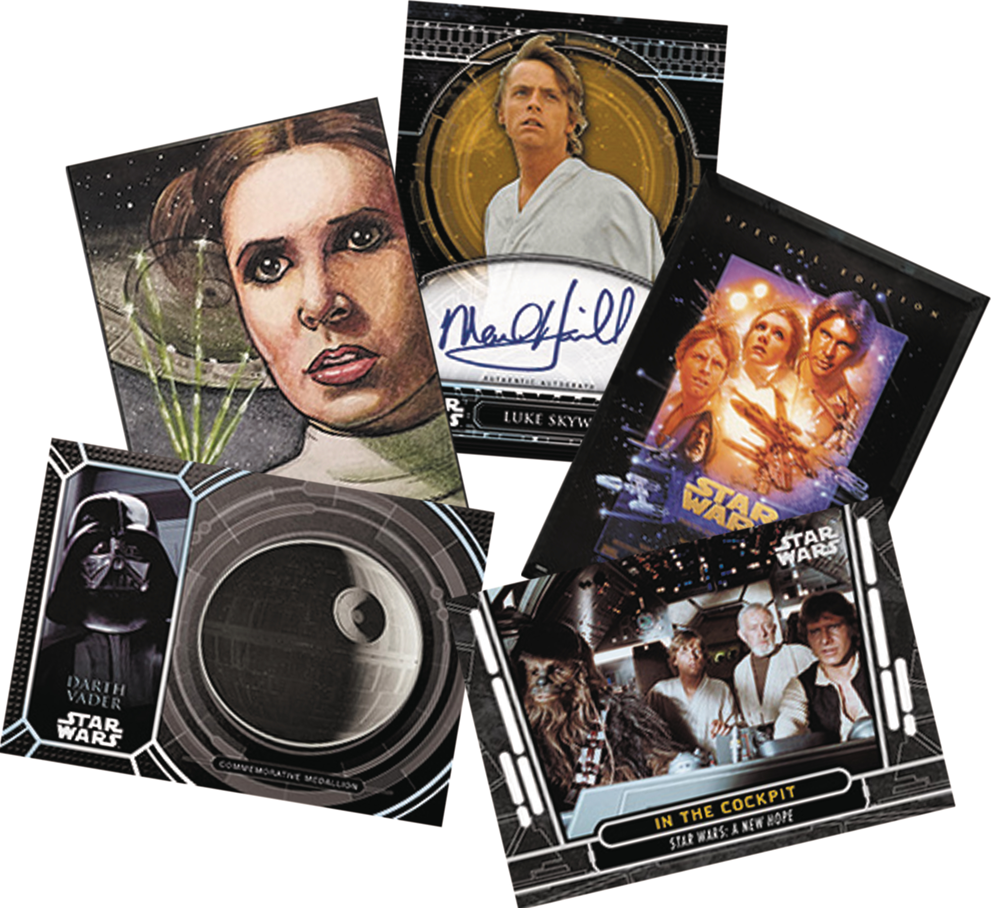 TOPPS 2017 STAR WARS 40TH ANNIVERSARY T/C BOX