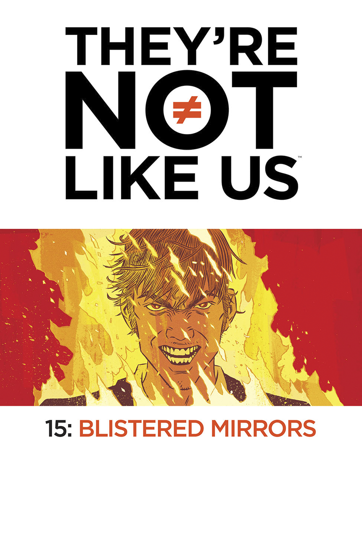 THEYRE NOT LIKE US #15 (MR)