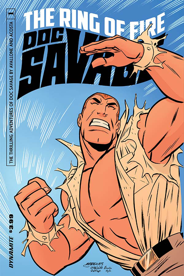 DOC SAVAGE RING OF FIRE #1 (OF 4) CVR B MARQUES