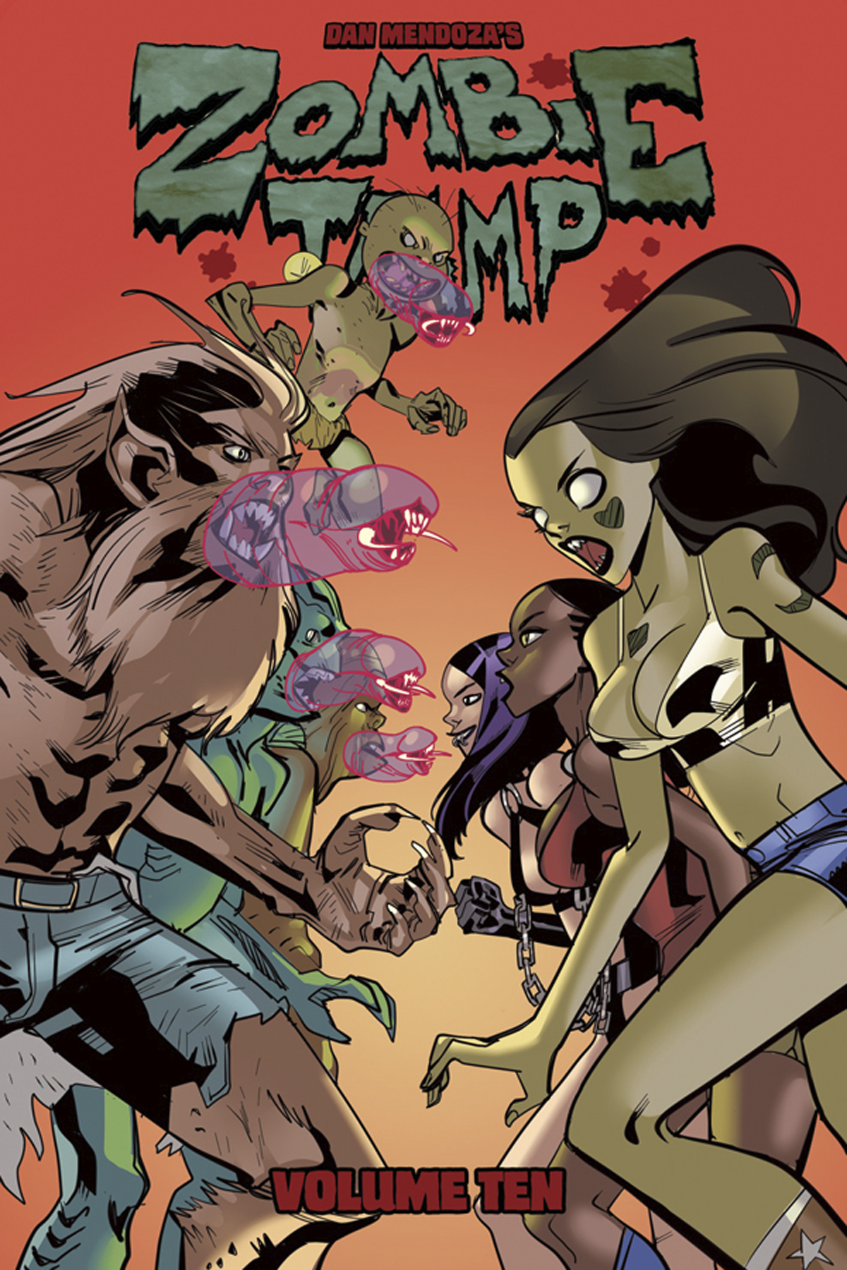 Zombie Tramp (2014) Vol. 10: Skanks Shanks And Shackles TP Reviews