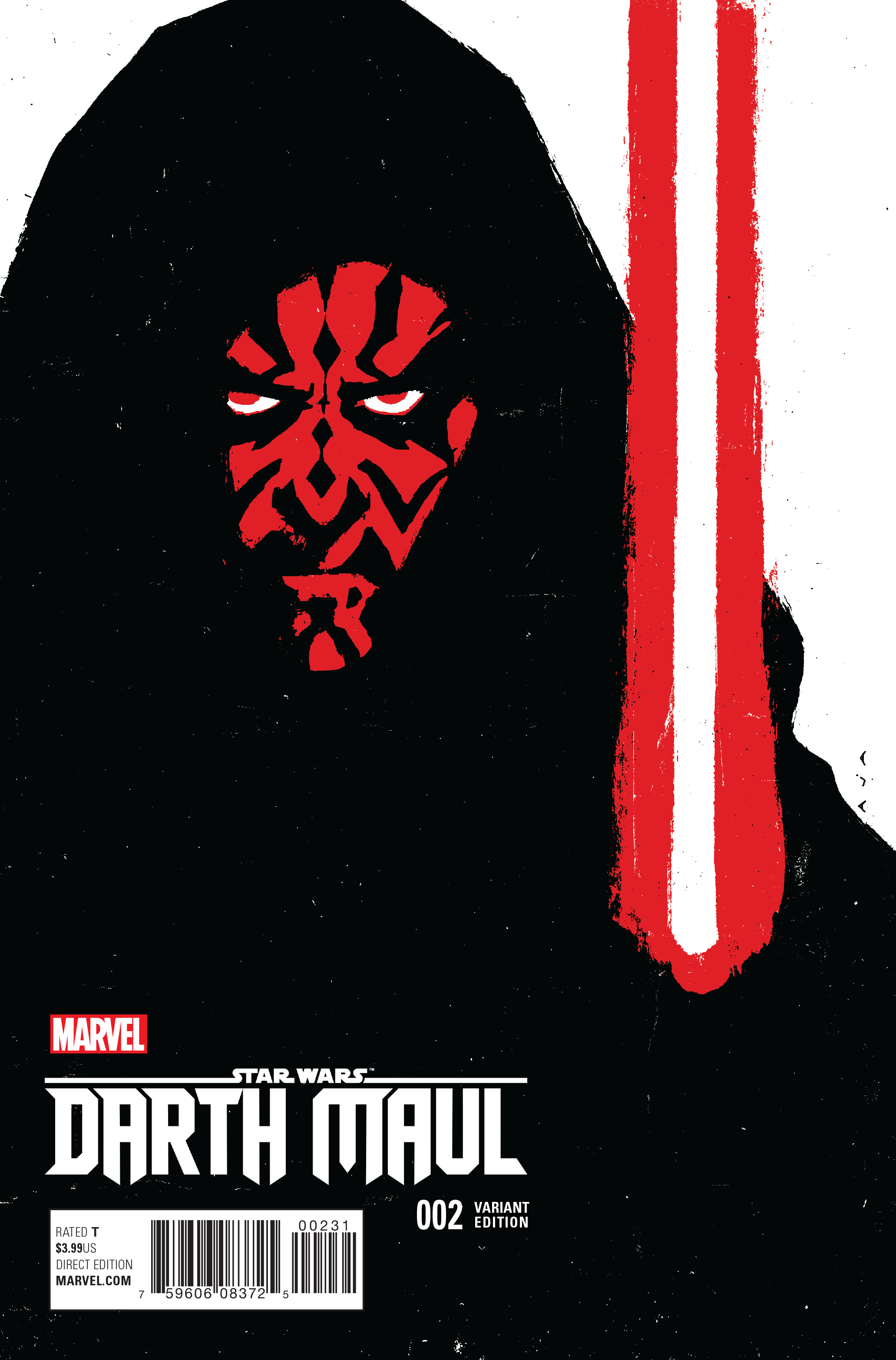 STAR WARS DARTH MAUL #2 (OF 5) AJA VAR
