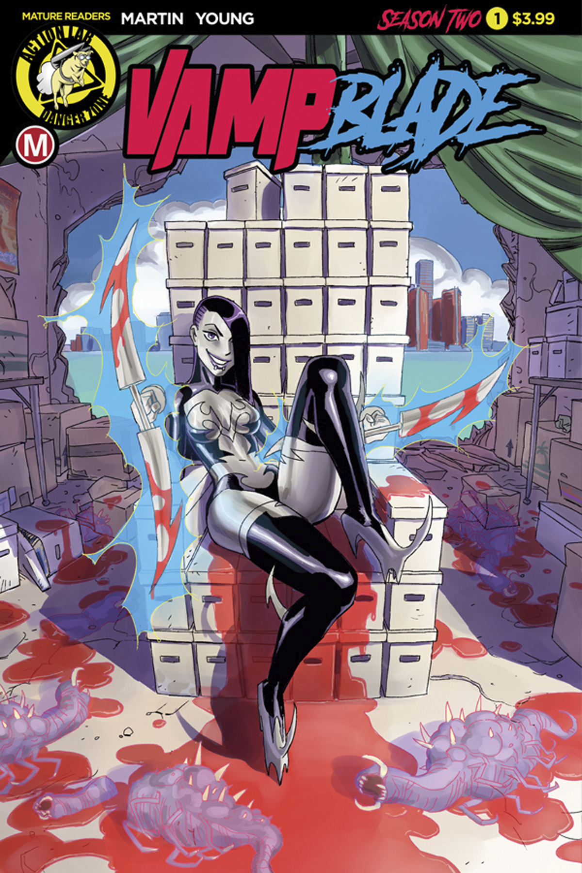 VAMPBLADE SEASON TWO #1 CVR A WINSTON YOUNG