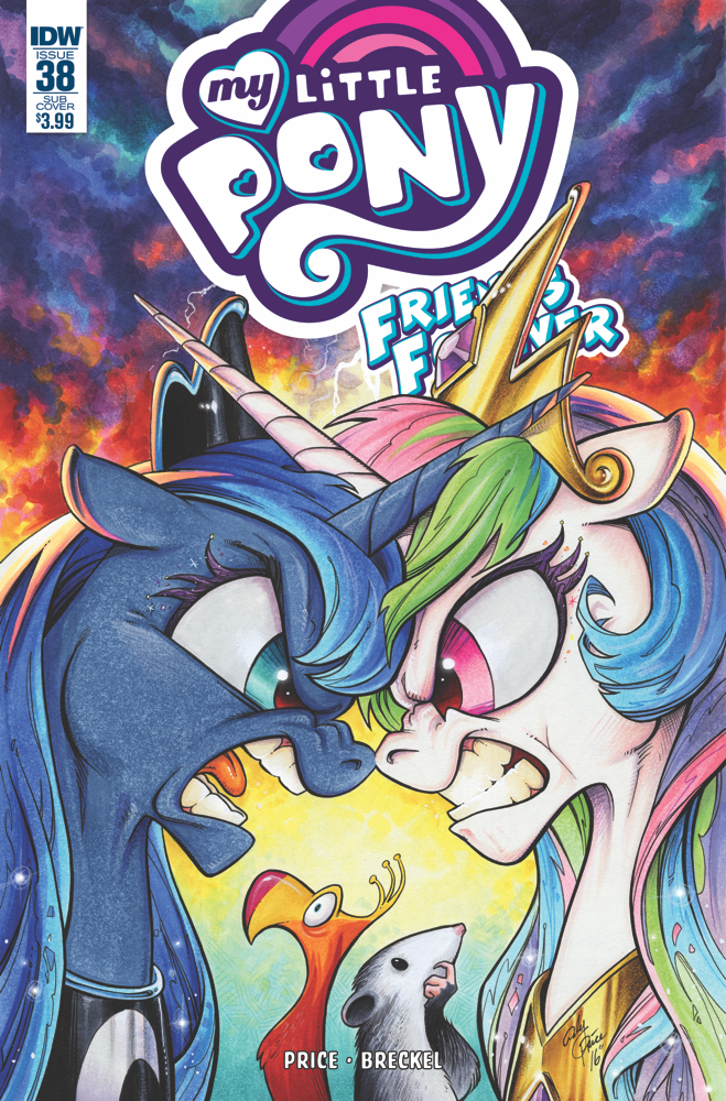 MY LITTLE PONY FRIENDS FOREVER #38 SUBSCRIPTION VAR