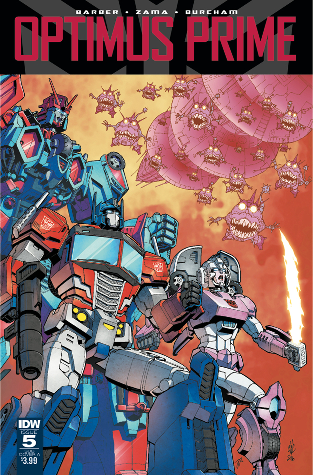OPTIMUS PRIME #5 SUBSCRIPTION VAR A