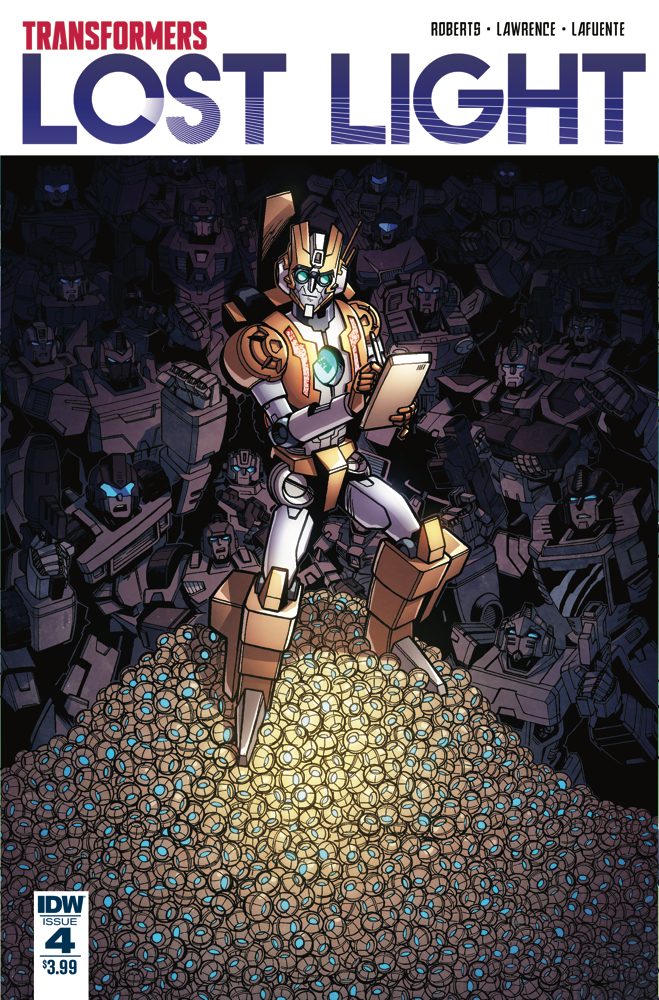 TRANSFORMERS LOST LIGHT #4