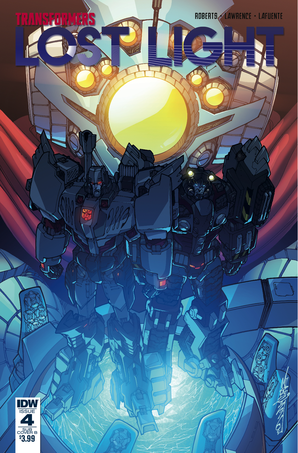 TRANSFORMERS LOST LIGHT #4 SUBSCRIPTION VAR B