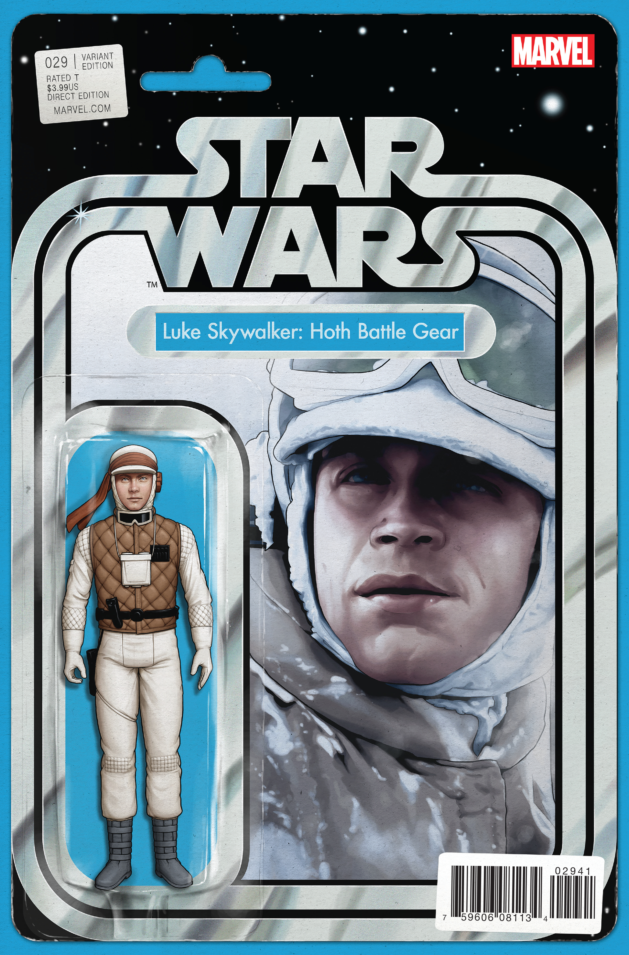 STAR WARS #29 CHIRSTOPHER ACTION FIGURE VAR