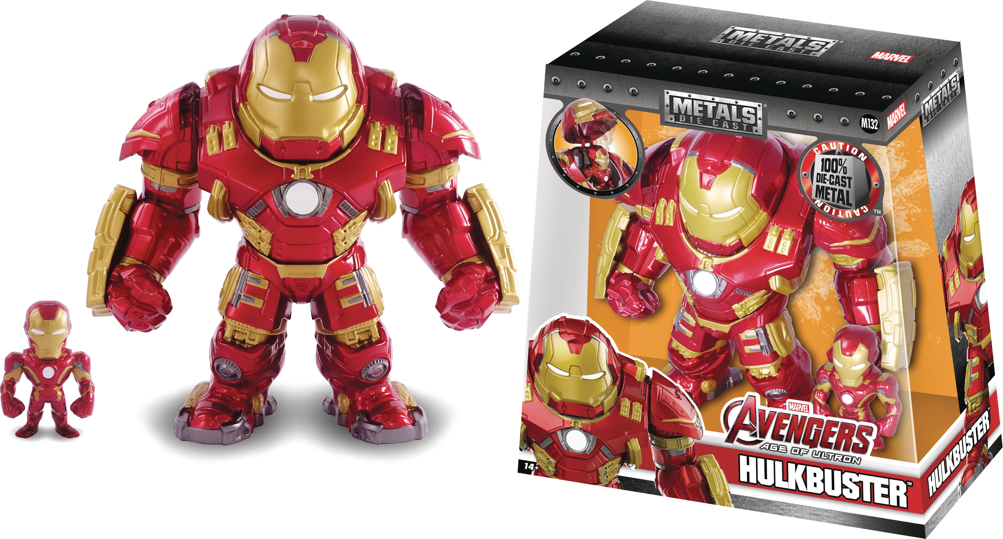 METALS MARVEL CIVIL WAR HULKBUSTER 6IN DIE-CAST FIG