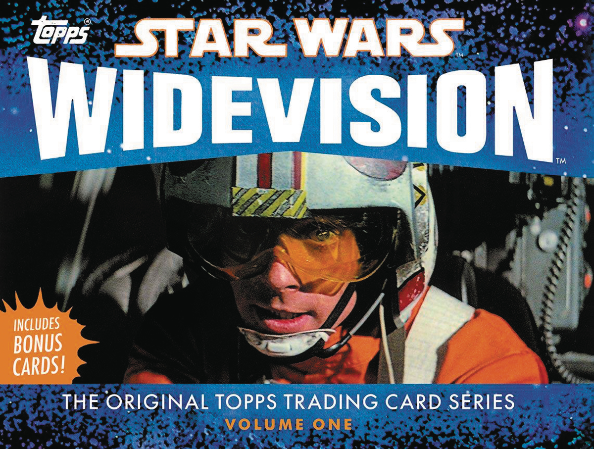 STAR WARS ORIG TOPPS T/C WIDEVISION HC VOL 01