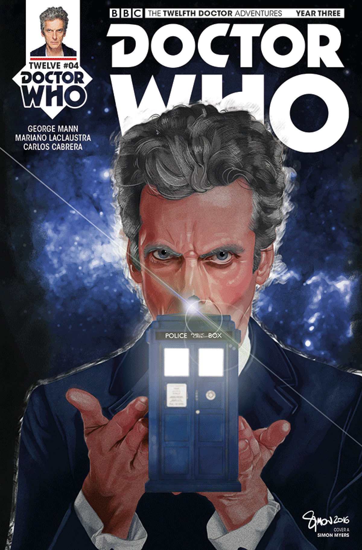 DOCTOR WHO 12TH YEAR THREE #4 CVR A MYERS