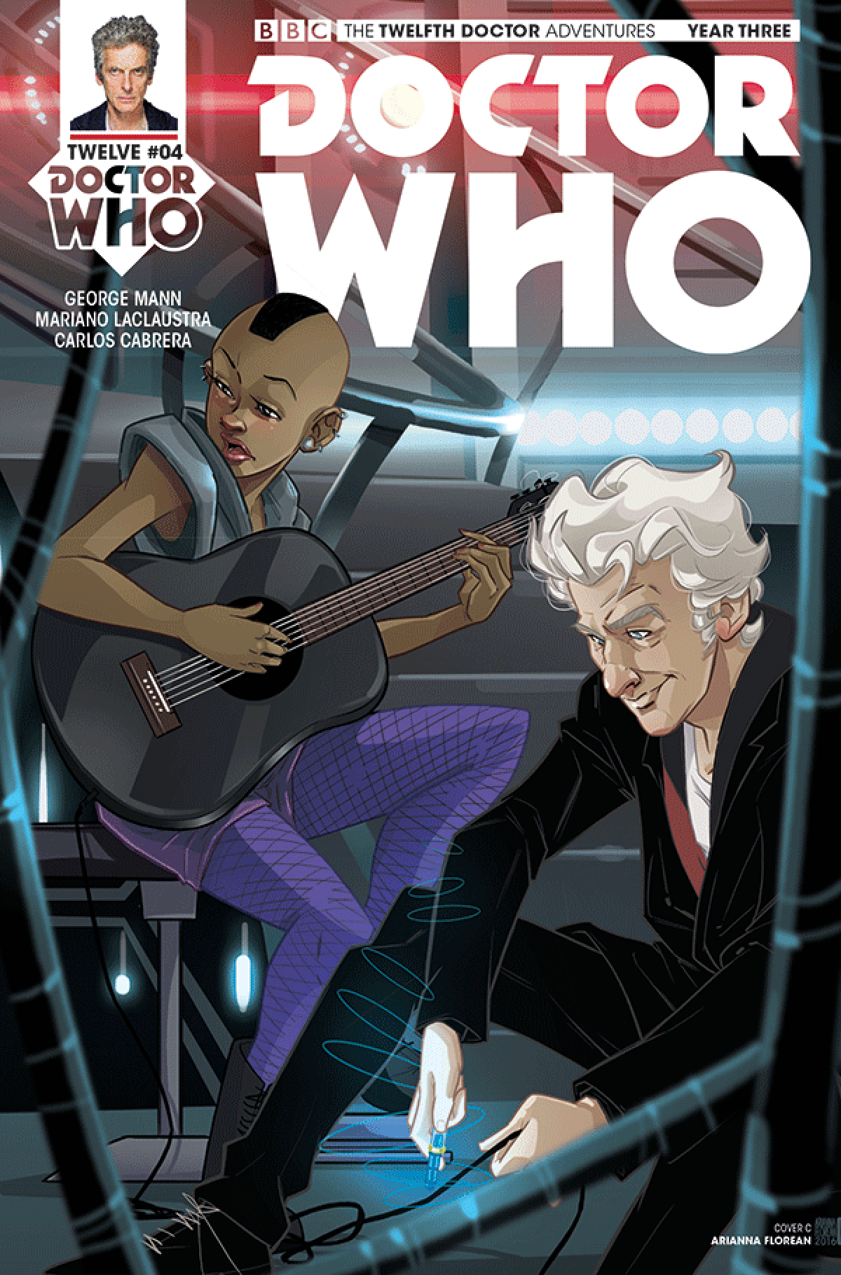 DOCTOR WHO 12TH YEAR THREE #4 CVR C FLOREAN