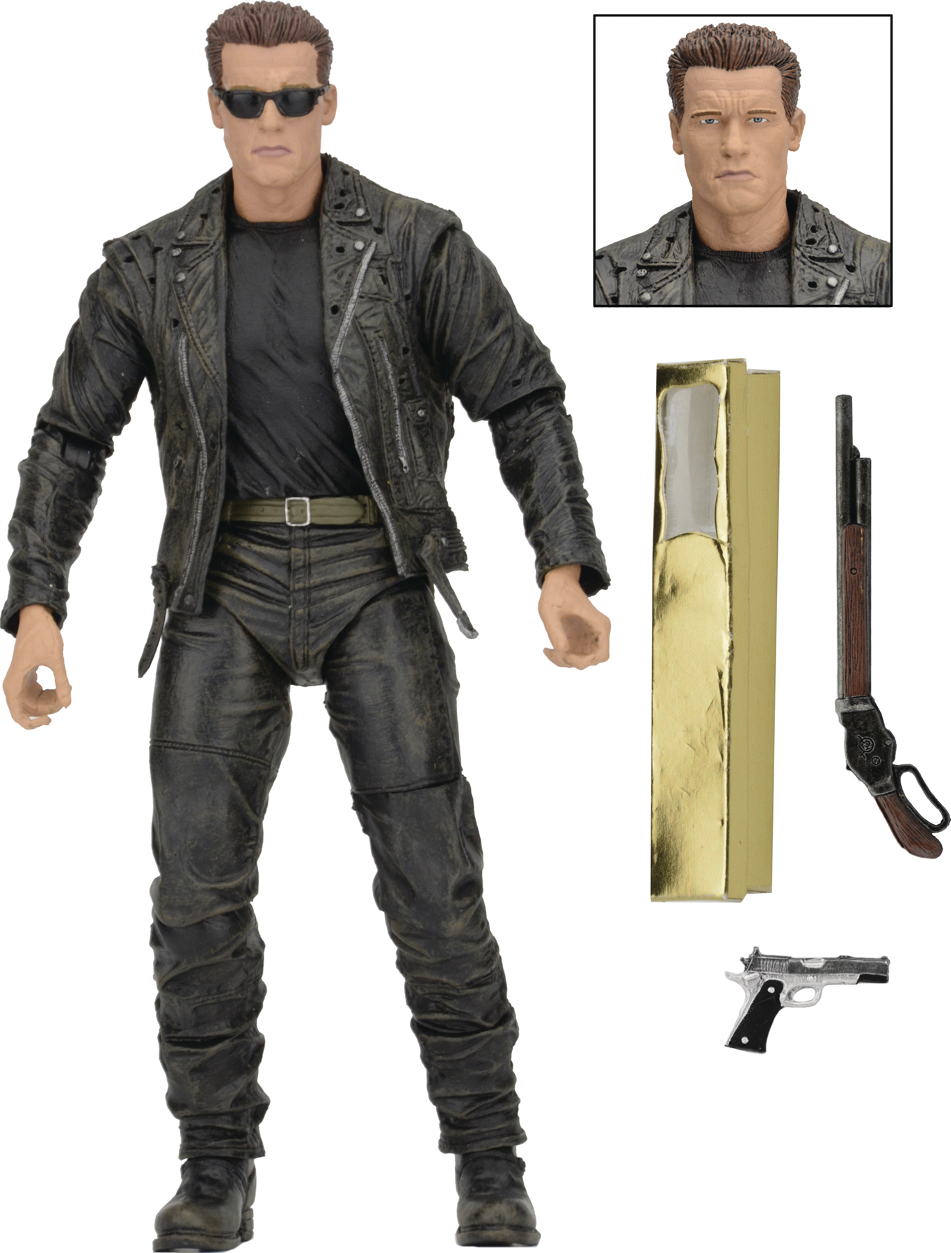 TERMINATOR 2 T-800 25TH ANNIVERSARY 3D RELEASE T-800 7IN AF
