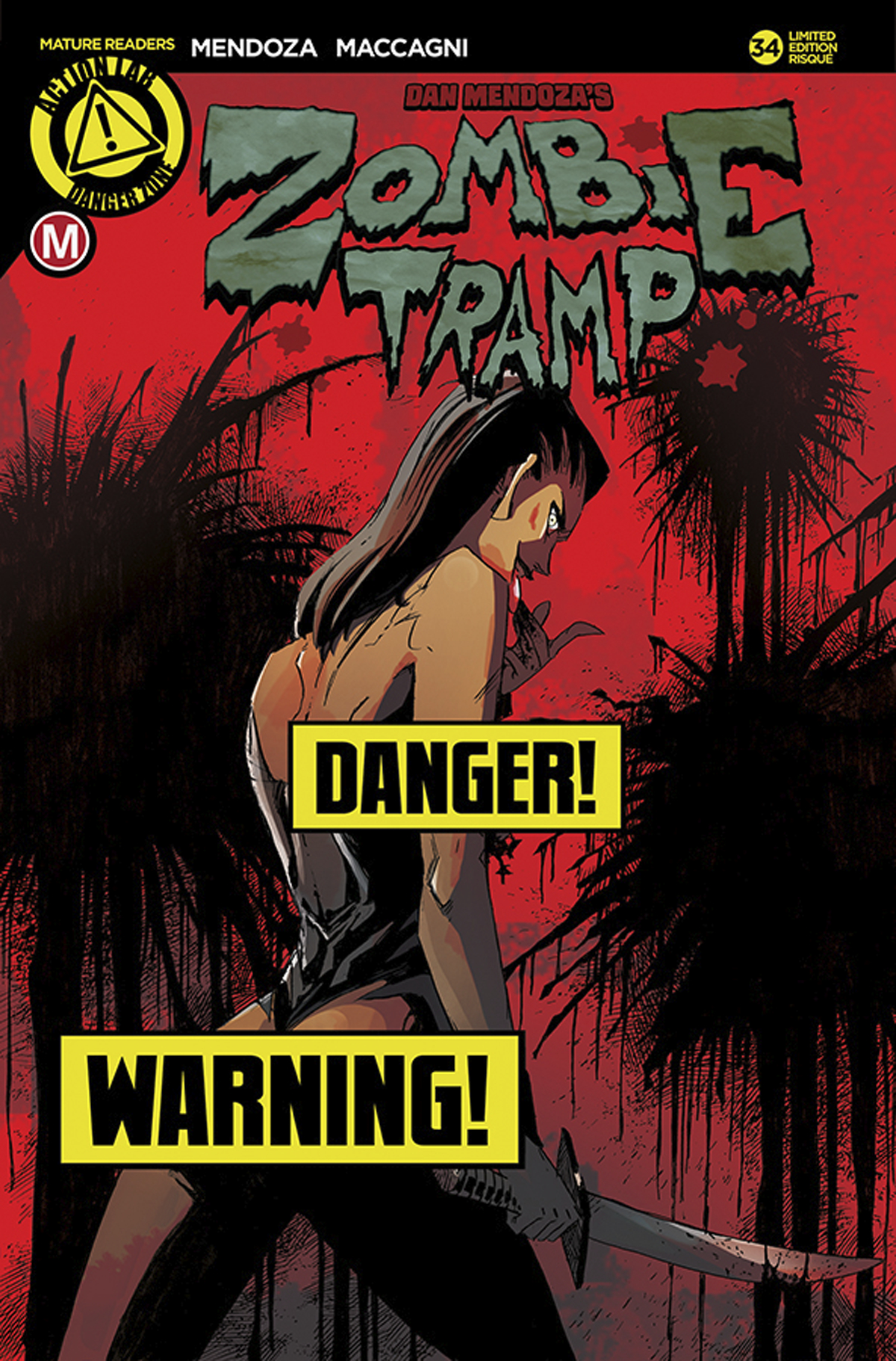 ZOMBIE TRAMP ONGOING #34 CVR D MACCAGNI RISQUE